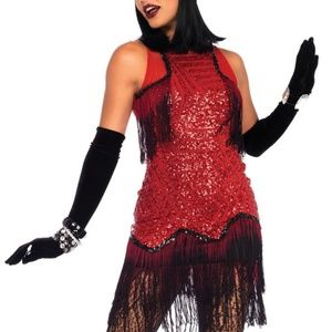 Gatsby Girl Flapper Fringe Costume